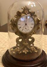 Late Nineteenth Century Tissot Clock Watch Running