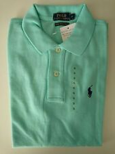Ralph Lauren Women SKINNY Polo T-shirt Short Sleeve With Tags S Light Green