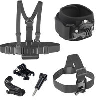 Accessories Kit Mount for Gopro Go pro HD Hero 5 4 session 3+ 3 2 SJCAM SJ4000