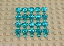 Lego Transparent Light Blue Diamond Gems Jewels 20 pieces NEW!!!