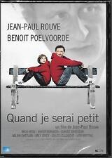 DVD ZONE 2--QUAND JE SERAI PETIT--ROUVE/POELVOORDE/MIOU MIOU/BRASSEUR--NEUF