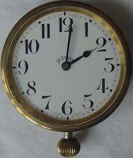 Antique Swiss 8 Day Mechanical Dash Clock