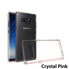 Samsung Galaxy Note 8 Case Hybrid Slim Protective Defender Cover Clear Back TPU