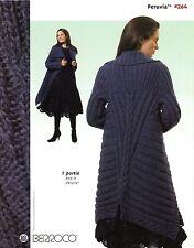 Berroco Peruvia Knitting Pattern Book #264 -8 Designs Women (1 by Norah Gaughan)