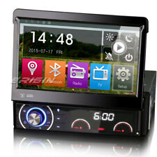 "7"" Detachable 1Din HD DVD/CD/USB/SD GPS Navi Bluetooth DTV-IN MLK Autoradio DAB+"