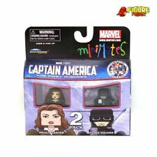 Marvel Minimates Series 40 Captain America Movie Peggy Carter & Hydra Soldier