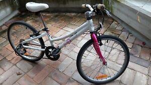 Girls  BYK E-450 8 Speed Geared Bike, pink