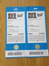 2 Billy Idol Tickets Open Air 17.07.18 in Köln