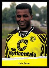Julio Cesar Autogrammkarte Borussia Dortmund 1994-95 TOP Kronen AK +A53257 OU