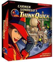 CARMEN SANDIEGO THINK QUCK CHALLENGE +1Clk Windows 10 8 7 Vista XP Install