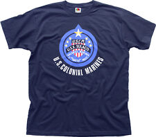 ALIENS: COLONIAL MARINES - USS SULACO navy t-shirt HG01450