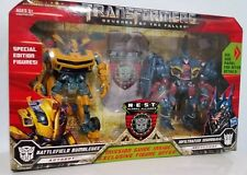 2009 TRANSFORMERS REVENGE of the FALLEN BUMBLEBEE SOUNDWAVE 2 pack
