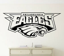 Philadelphia Eagles Wall Decal NFL Vinyl Sticker Football Logo Emblem Home Decor