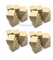 "US Seller~50 pcs 3 1/4""x2 1/4""x1"" Kraft Cotton Filled Gift Boxes"