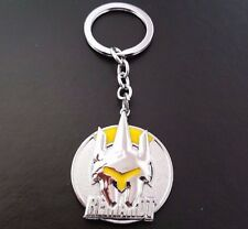 Overwatch REINHARDT Inspired Metal Keyring Gift Xmas Cracker Stocking Filler UK