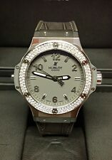Hublot Big Bang 38 mm Diamante 361.ST.5010.LR.1104 - Caja Y Papeles - 2011