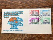 Jamaica 1980 Christmas First Day Cover