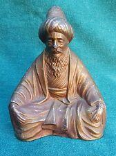 Orientalist Vienna Circa 1900 Statue Of The Man In Metalware    RARE