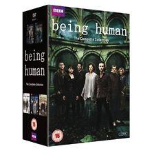 Being Human Komplette Season 1+2+3+4+5 Box Set 14er [DVD] NEU Staffel Series 1-5