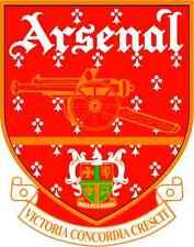 """Arsenal England Soccer Football Bumper Sticker 4"""" x 5"""""""