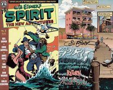 signed WILL EISNER 1st print THE SPIRIT new adventures 2 1997 KITCHEN SINK COMIC