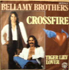 "7"" 70s GOLD ! BELLAMY BROTHERS : Crossfire // VG++ \"