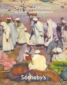 Sotheby's Catalogue Regards sur L'Orient 29/10/2008 HB