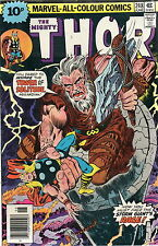 THE MIGHTY THOR # 248 / FINE / STORM GIANT / JOHN BUSCEMA.
