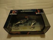 1/64 HOT WHEELS 1998 WORLD CHAMPIONS MCLAREN MP4-13 2 CARS HAKKINEN & COULTHARD
