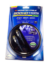 Monster Cable 500HD HDMI Cable - 6 Meter (20 Ft) - 1080p - Certified for In Wall