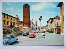PIETRASANTA Piazza del Duomo FIAT 500 Lucca vecchia cartolina