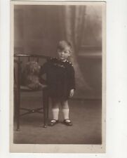 Social History Children Vintage RP Postcard A Seaman Sheffield 182b