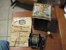 Vintage PENN Delmar 285M Saltwater Fishing Reel & Bundle