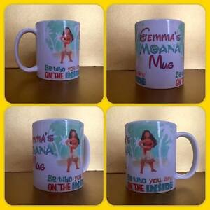personalised mug cup moana be who you are on the inside quote maui hook tattoo