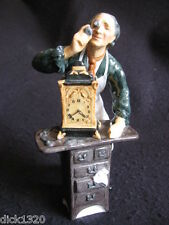 "LOVELY ROYAL DOULTON PORCELAIN FIGURINE ""THE CLOCKMAKER"" HN 2279 SUPERB!!"