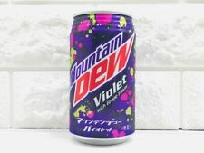 NEW Mountain Dew Violet Soda from Japan Grape Flavor Japan Limited Free ship