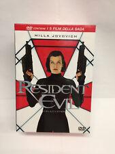 RESIDENT EVIL COLLECTION - COFANETTO 5 DVD - MILLA JOVOVICH