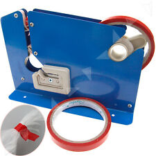 Store Metal Blue Plastic Bag Neck Sealer Trimming Blade with 2 Rolls Tape