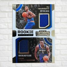 2019-20 Panini Contenders Zion Williamson & RJ Barrett Dual Jersey Patch 🔥🔥🔥