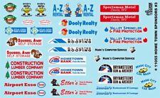 Gofer 11055 Hometown Racing Sponsors # 3 1/24 and 1/25