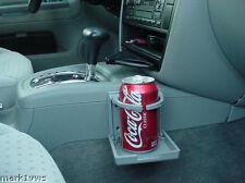 GRAY coffee folding cup holder VW mk4 porsche Audi s Mercedes cl bmw suv drink
