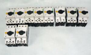 Moeller Eaton verschiedene Motorschutzschalter  TYP  PKZM0