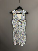 REISS Summer Dress - Size UK8 - Floral - Great Condition - Women's