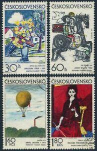 Czechoslovakia 1859-1862,CTO.Michel 2117-2120. Graphic Art,1972.