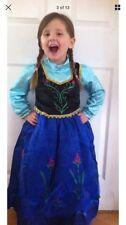 Girls Frozen Princess Anna Party Fancy Dress Costume 3/4 Years