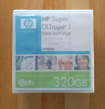 HP Super DLT SDLT/SDLT1/SDLTtape I Data Tape/Cartridge 160/320GB C7980A NEW