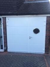 40MM Insulated Steel side hinged Garage door high security Top Of The Range