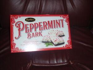 Barton's 7oz Peppermint Bark Creamy Vanilla & Luscious Dark Chocolate