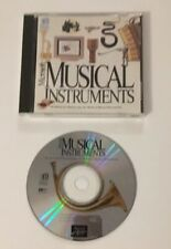 CD Rom - Microsoft Musical Instruments - Pre-owned