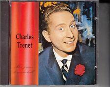 "CD ALBUM  CHARLES TRENET  ""MOI J'AIME LE MUSIC HALL"" (26 TITRES)"